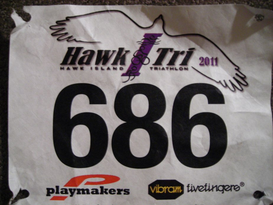 finally a triathlete #HawkITri