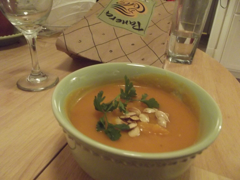 Recipe: Thai Curry Pumpkin Soup