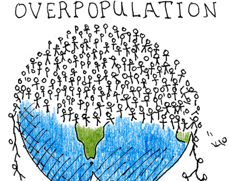 better health + growing population ≠ societal collapse#7billion