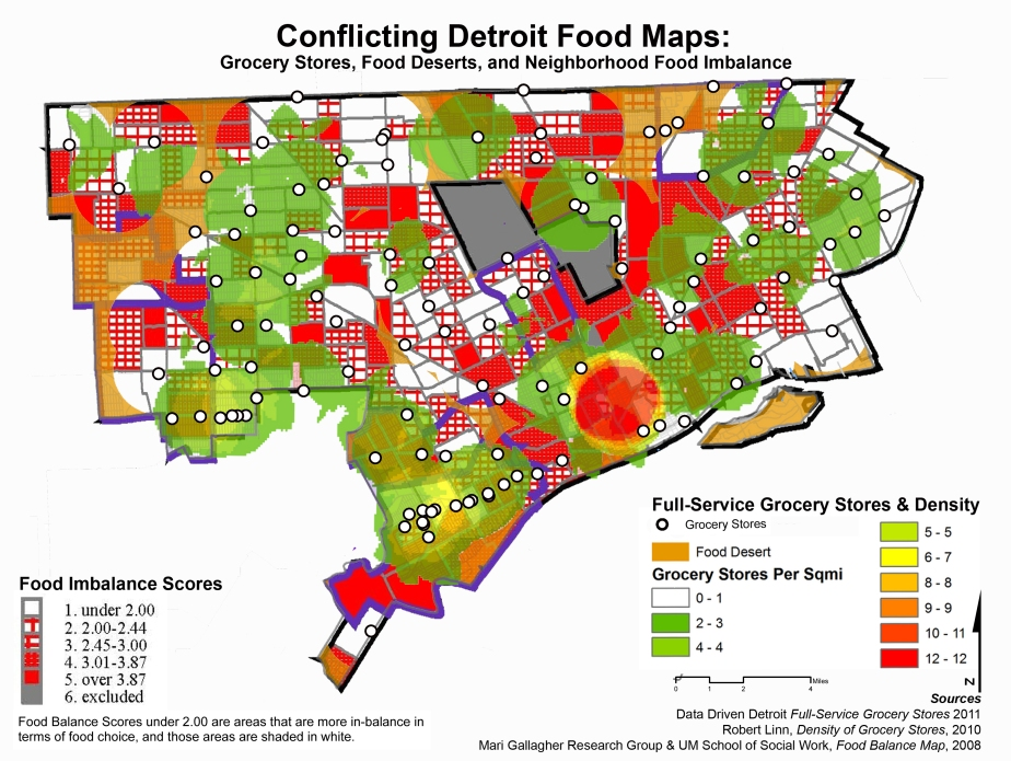 The History and Conflict of Food Access in Detroit
