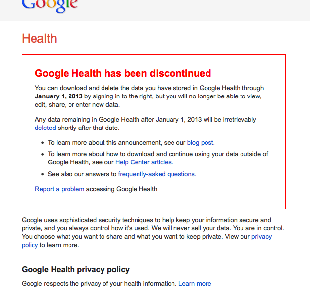 Implications for HIPAA & Health Practitioners under the new Google PrivacyPolicy