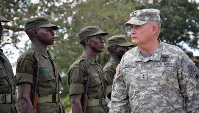 Blue Helmets ineffective compared to US troops in Central Africa?