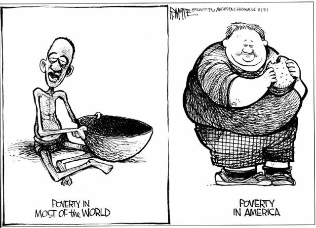 obesity malnutrition Americans are overfed and undernourished that's right, the most obese children and adults in the country are also the most nutritionally deficient (1.