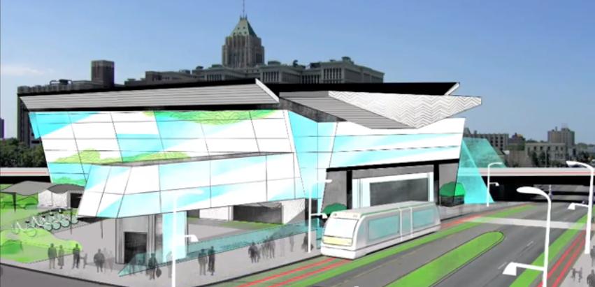 An Intelligent Transit Center for Detroit'sFuture