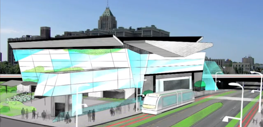 An Intelligent Transit Center for Detroit's Future