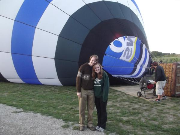 Hot Air Balloon FirstAnniversary