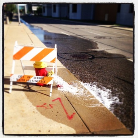 water hydrant flow