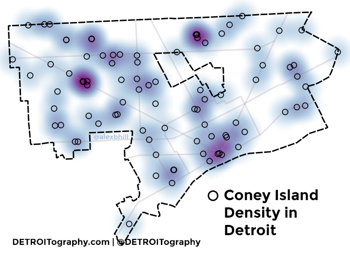Map: Coney Detroit2017